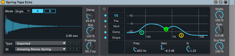 Add FX To Vocals_Springs Vintage Character