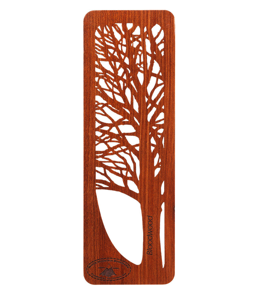 Tree Bookmark -Bloodwood