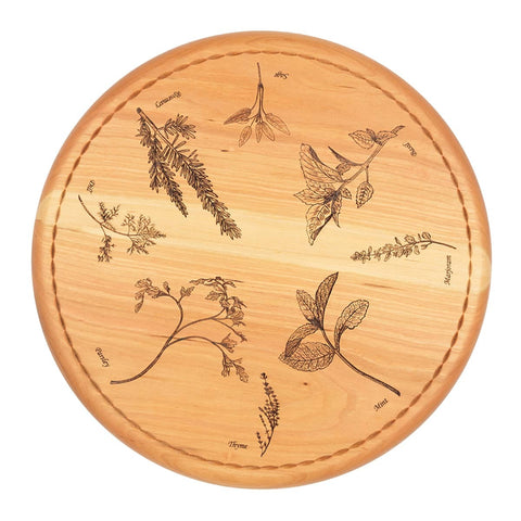 Compass Rose Bread Board