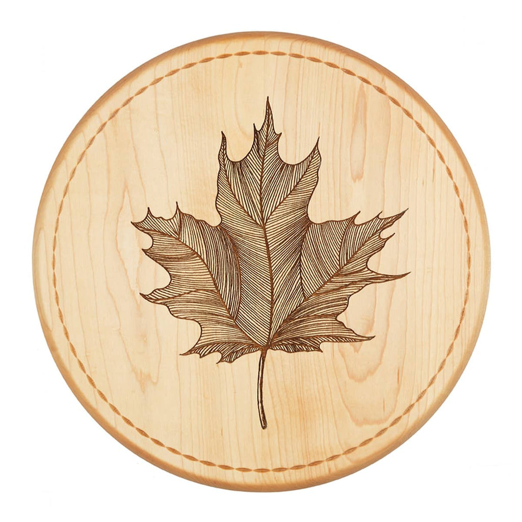 Maple Leaf Bread Board