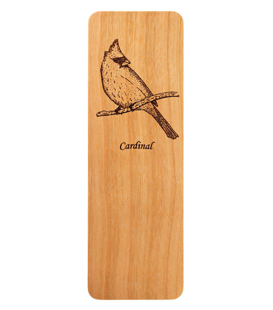 bookmark with cardinal