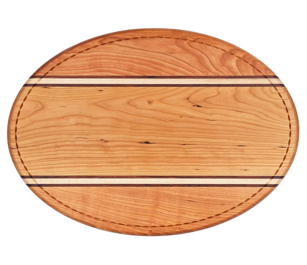 Striped Carving Board