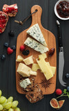 Compass Cheese Board with Food