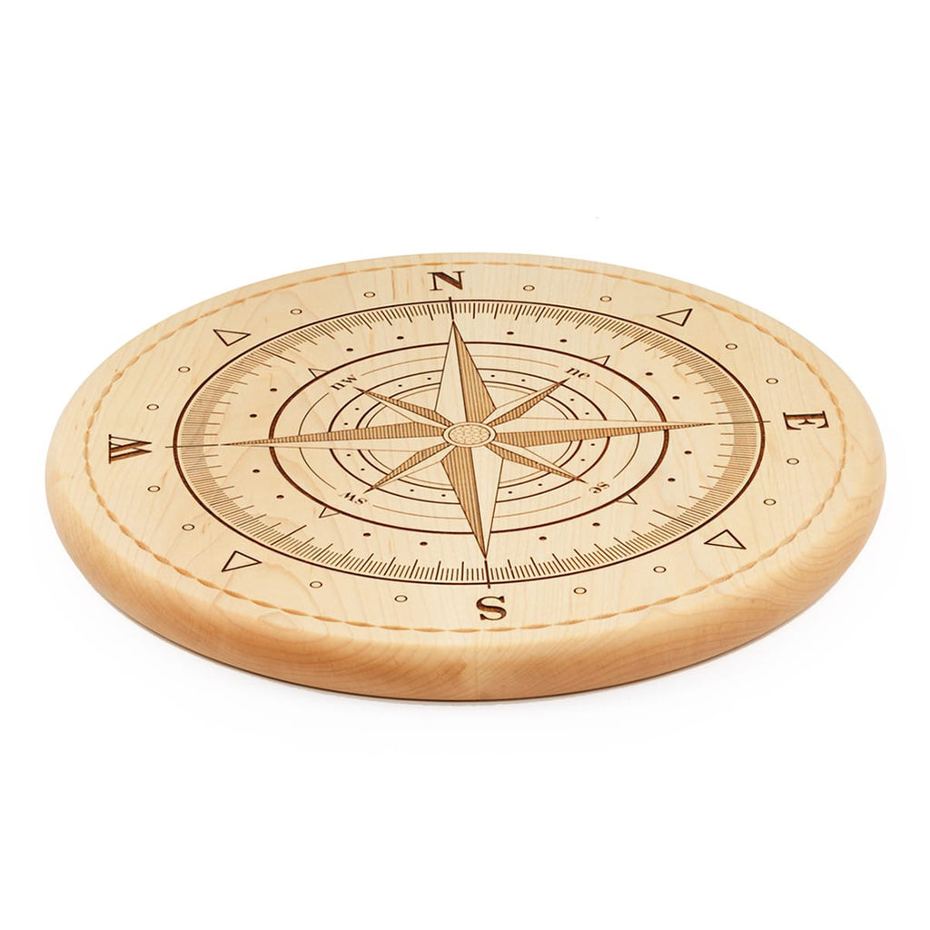 Compass Bread Board Side View