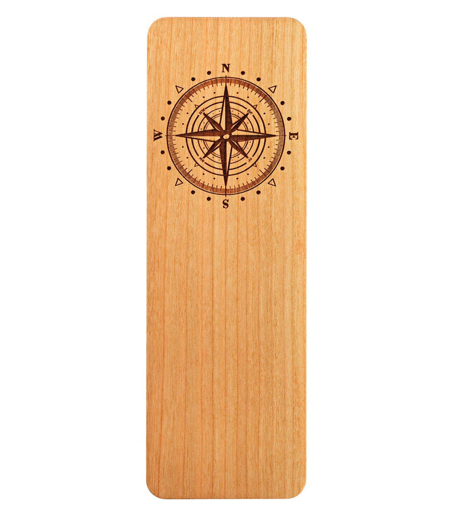 bookmark with compass rose