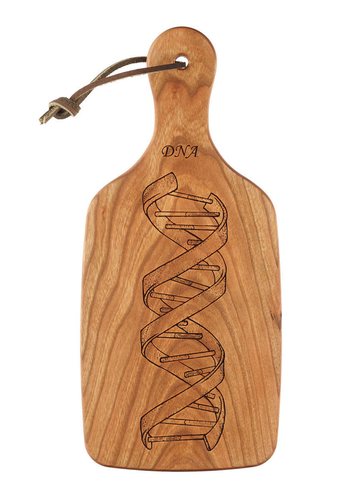 dna cutting board science gift