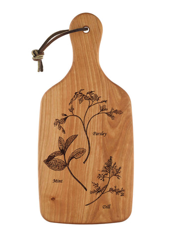 Rose Cutting and Serving Board