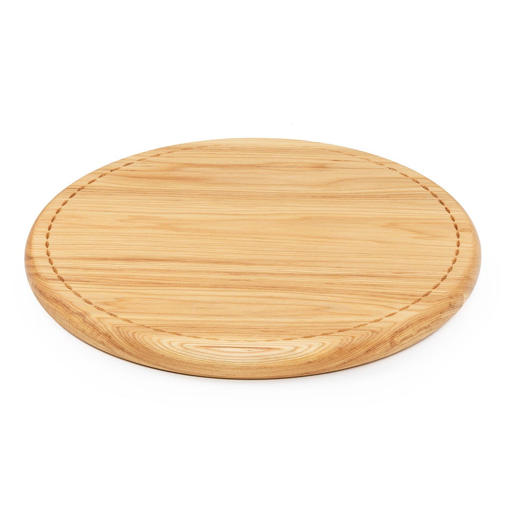 Hickory Bread Board Side View