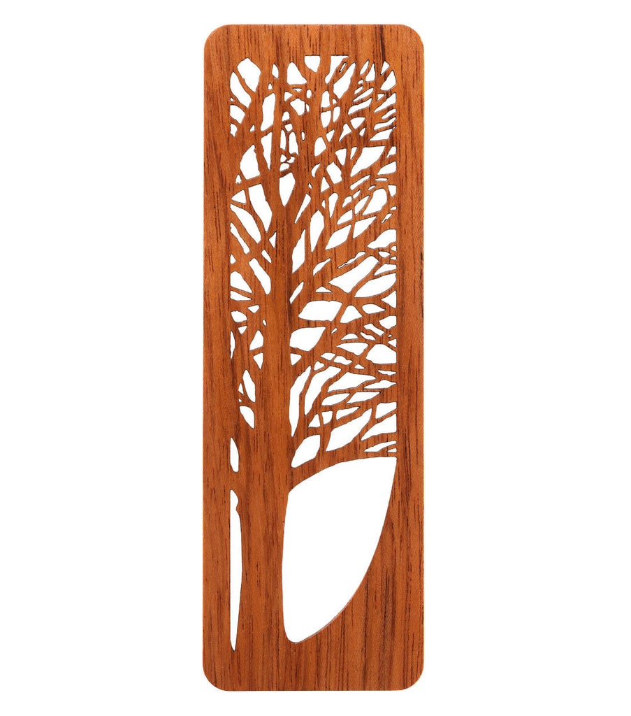 tree bookmark made from jatoba