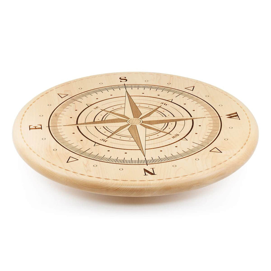 Compass Lazy Susan Side View