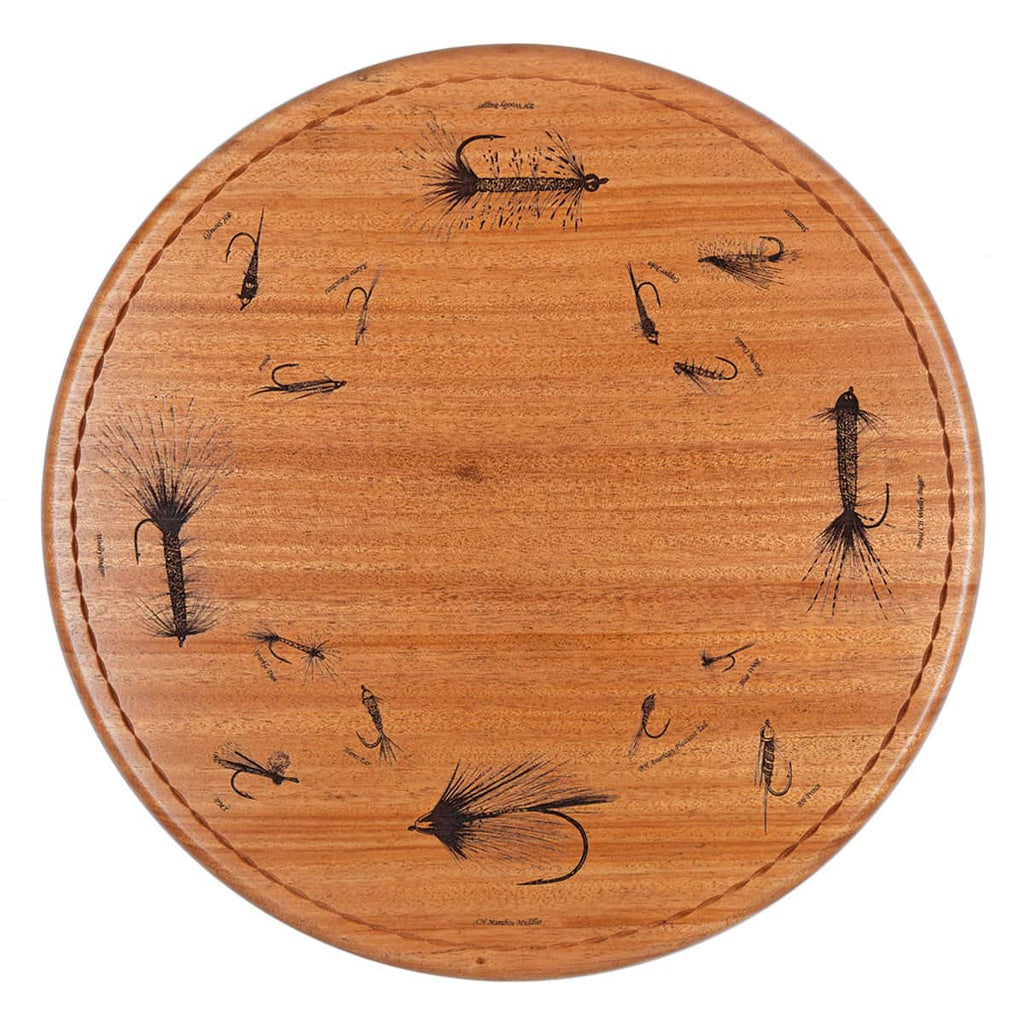 Trout Fly Lazy Susan