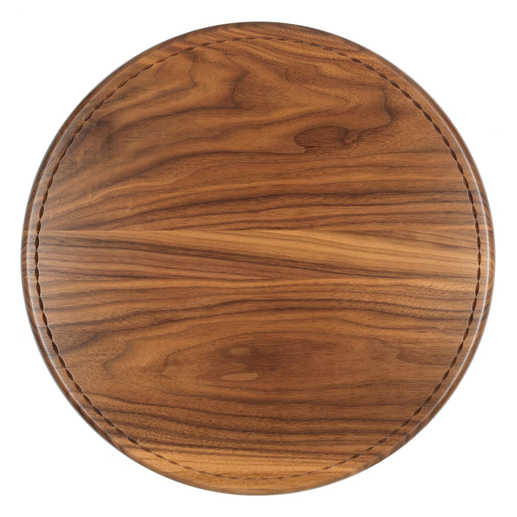 Walnut Lazy susan