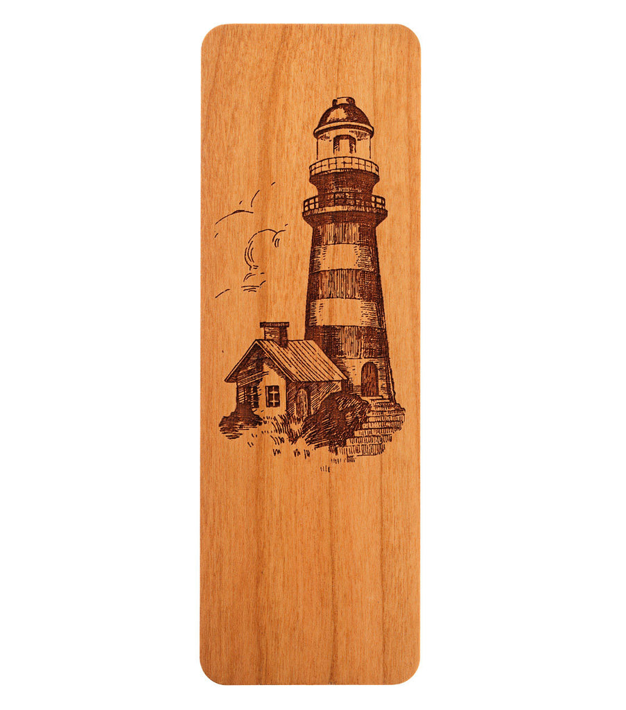 bookmark with lighthouse