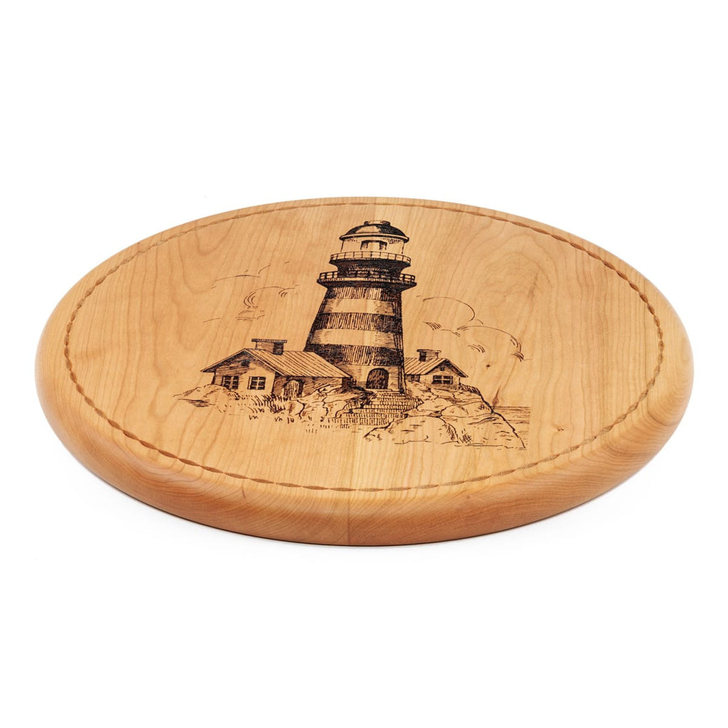 Lighthouse Bread Board Side View