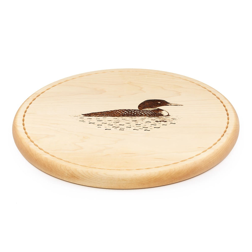 Loon Bread Board Side View