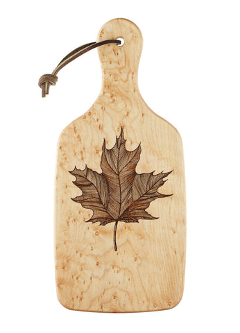 Tiger Maple Cutting and Serving Board