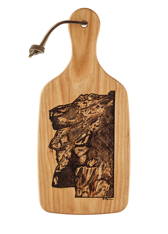 Owl Cutting and Serving Board