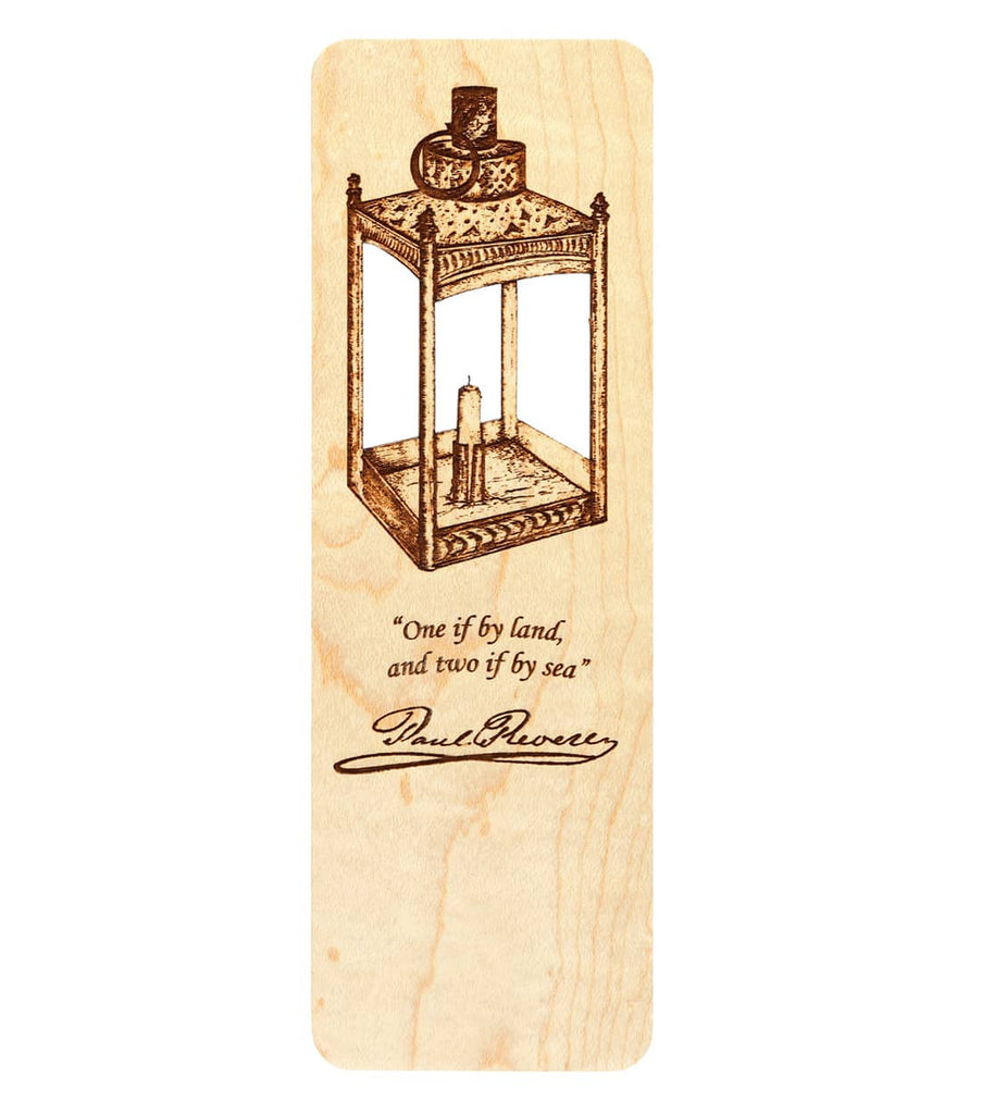Paul Revere Lantern Bookmark