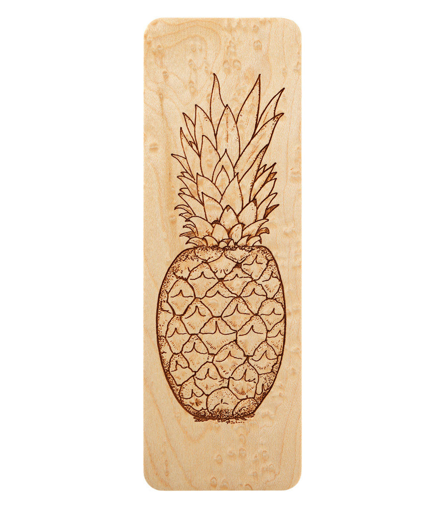 bookmark with pineapple design