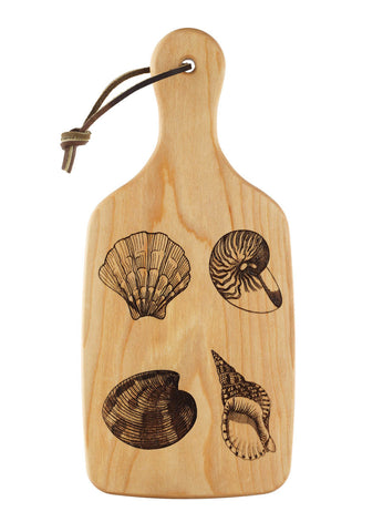 Scallop Shell Cutting and Serving Board