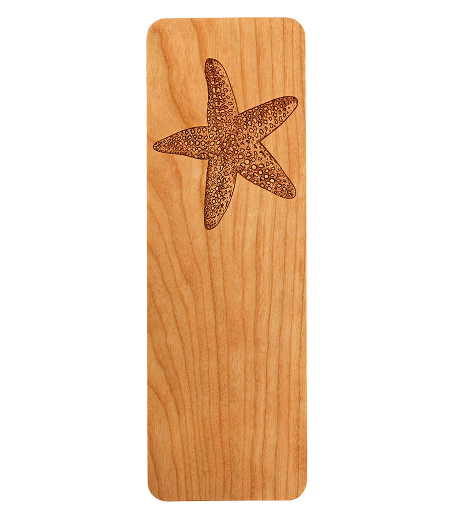bookmark with starfish