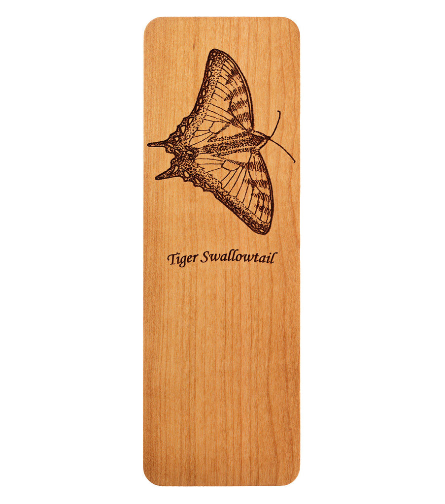 bookmark with tiger swallowtail butterfly