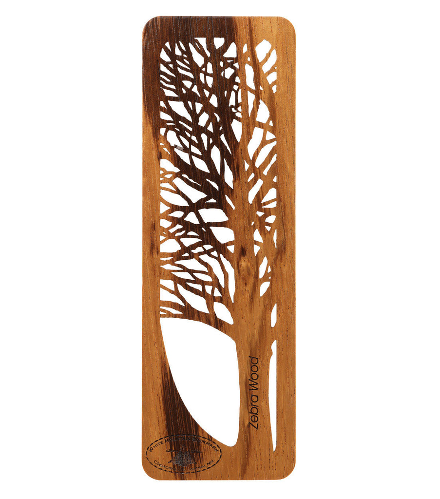 Tree Bookmark -Zebrawood