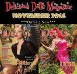 Our 1st published article for Delicious Dolls Magazine!