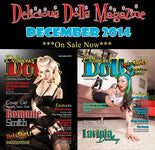 Our 2nd published article in Delicious Dolls Magazine!