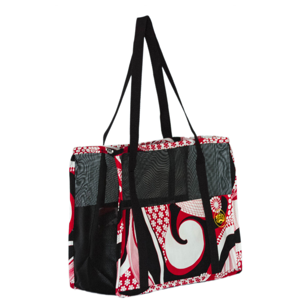 """Red Hawaiian"" Combo (tote n wallet)"
