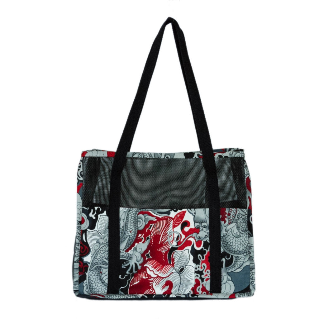 """Tattoo Dragon"" Medium Tote"