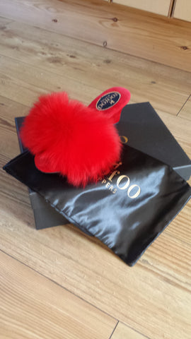 fOOfOO® Slippers with Red Base