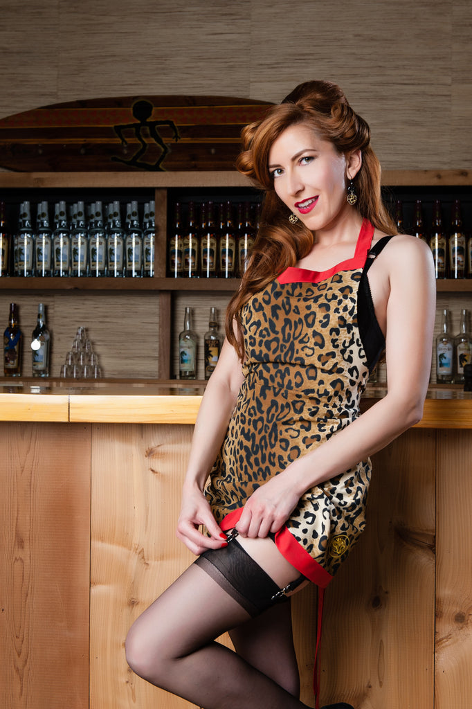 """Cheetah"" Apron"