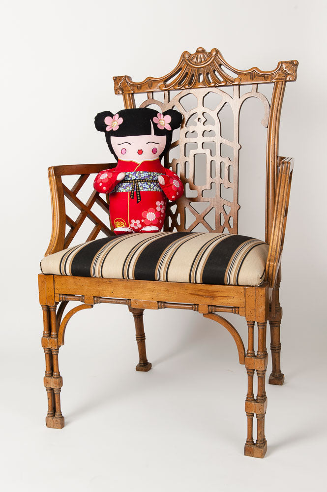 """Geisha Girl"" Doll Pillow"