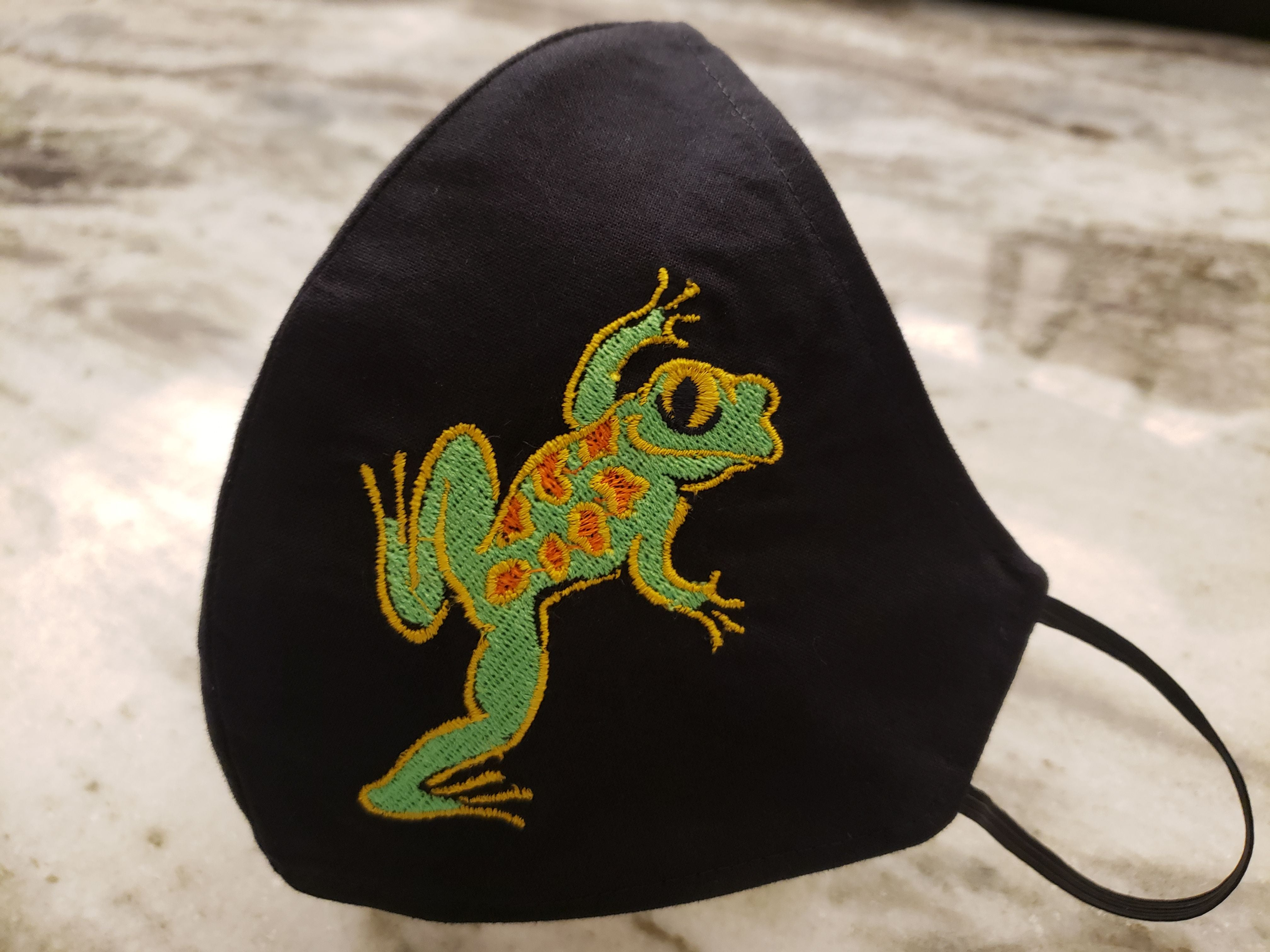 "NEW COLOR!!! ""Spotted Frog"" Face Masks"