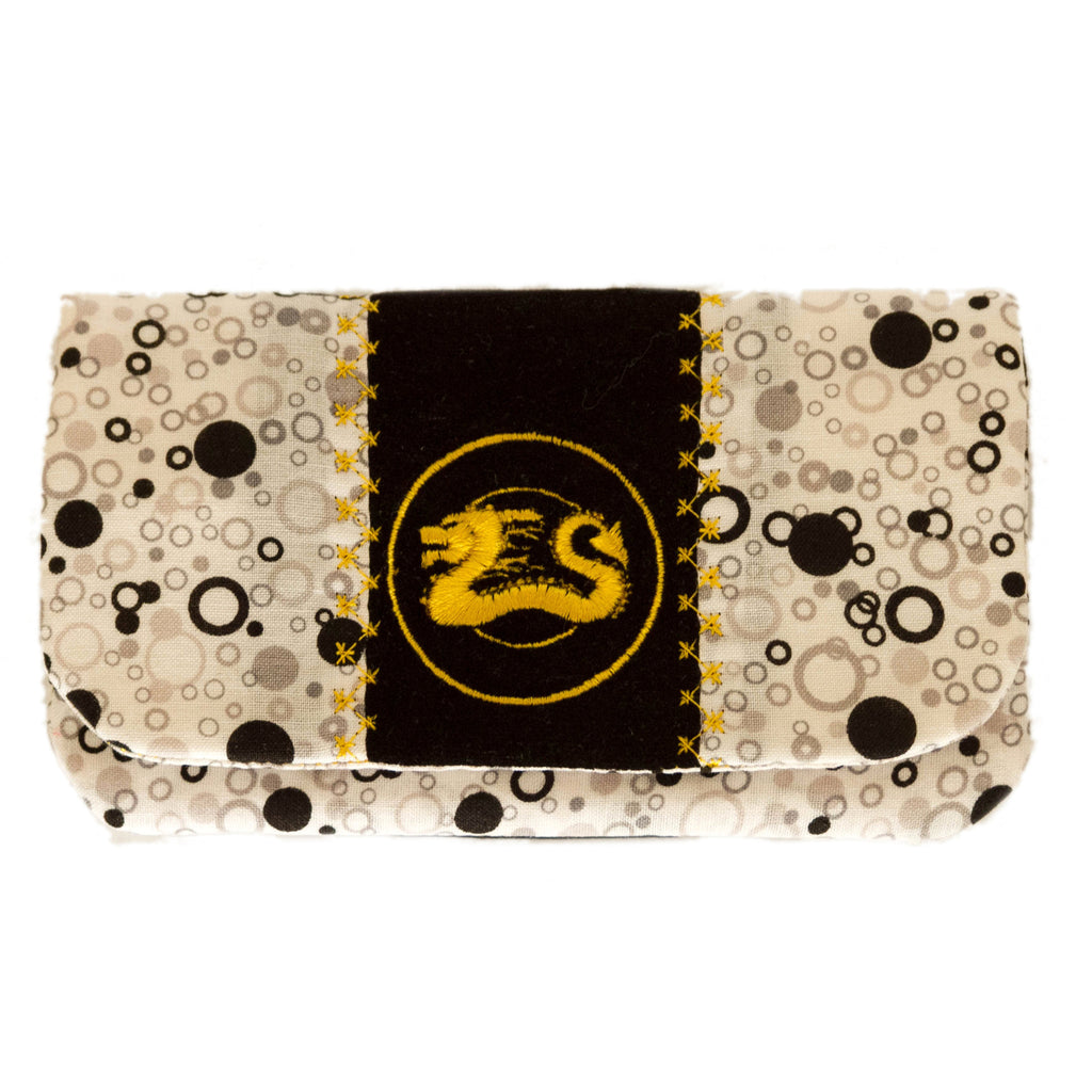 "SALE!!  ""Black Bubbles"" Wallet"