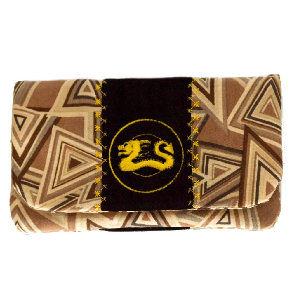 "SALE!!  ""Brown Geo"" Wallet"
