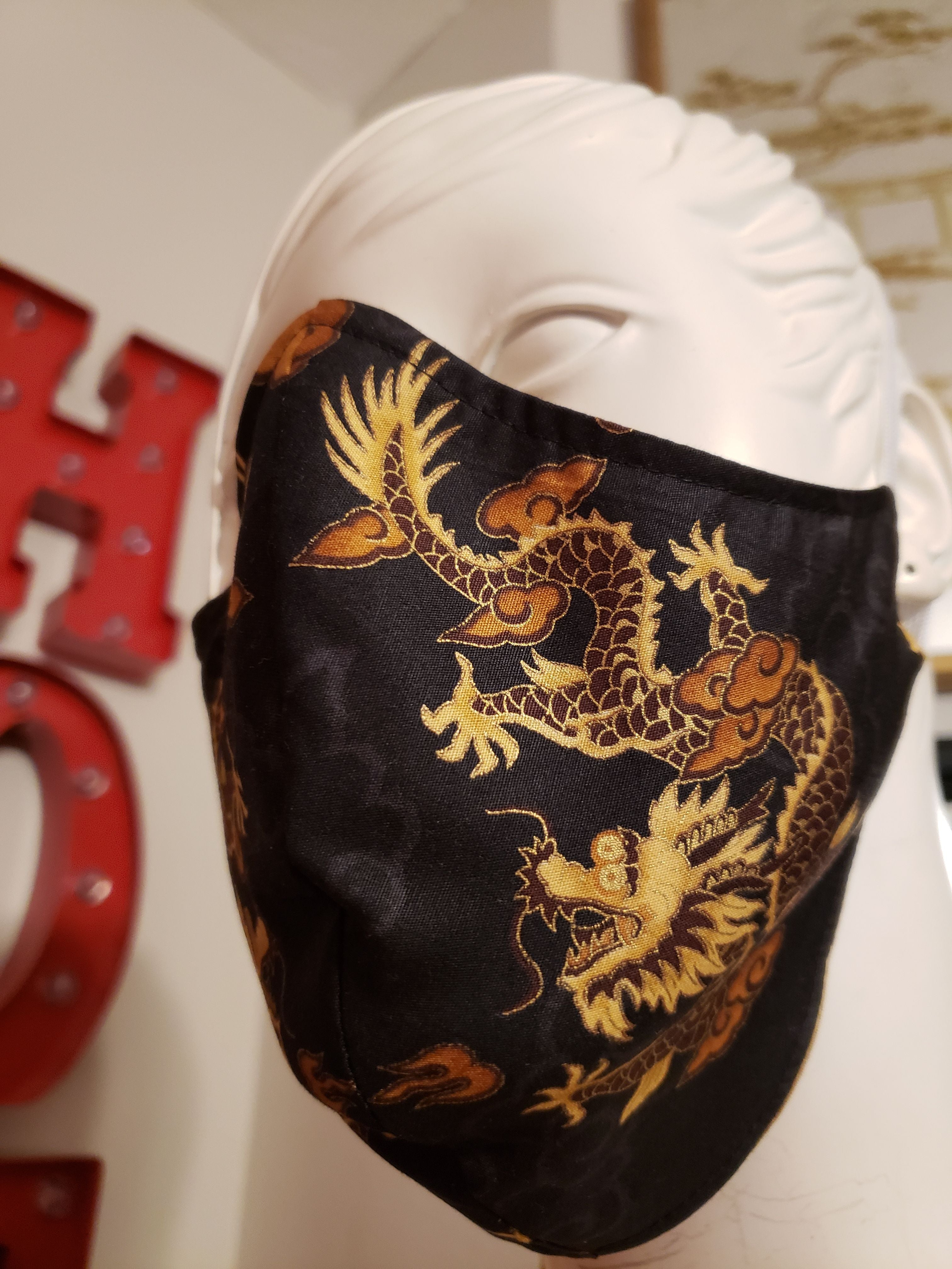 """Dragon"" Face Masks"