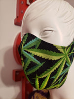 """Cannabis"" Face Masks"