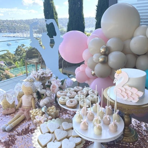 Ballerina Swan Event Grazing Table Package Sydney Kids Party