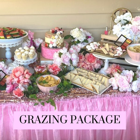 Pamper Catering Grazing Table Sydney Kids Party