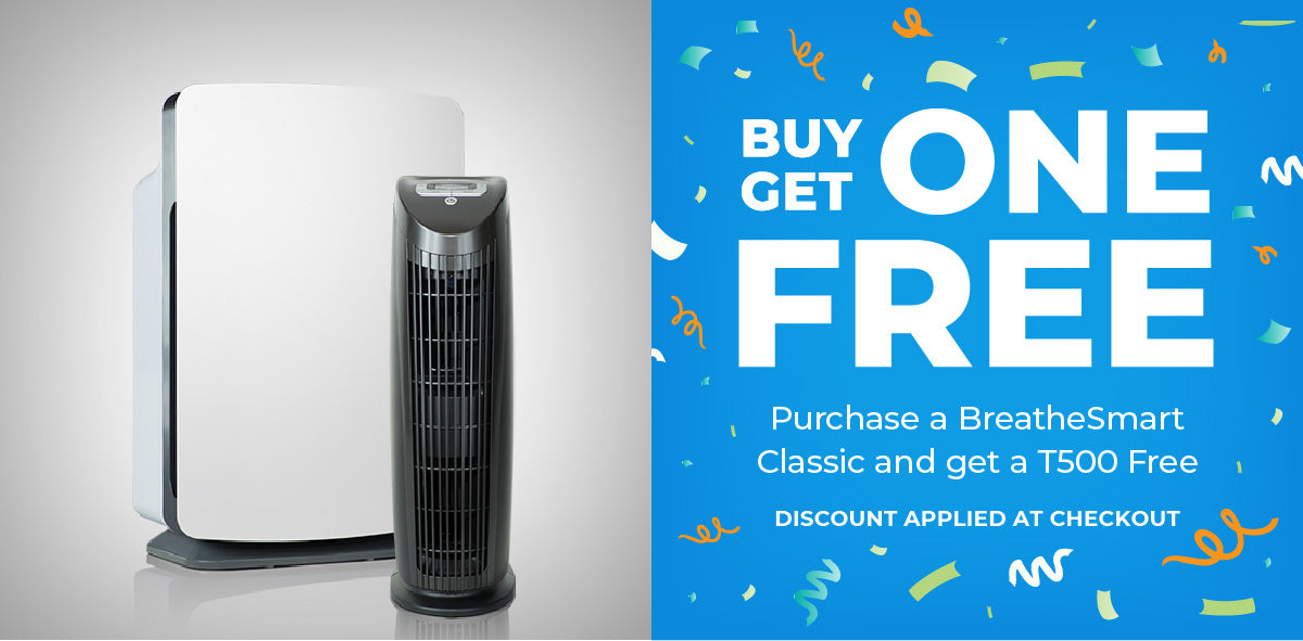 Daily Deal: Buy one BreatheSmart Classic, get a T500 free
