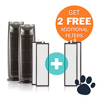 Alen T500 Air Purifier Smart Bundle 2 Pack