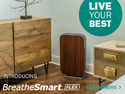 Live your Best. Introducing the Alen BreatheSmart FLEX Air Purifier