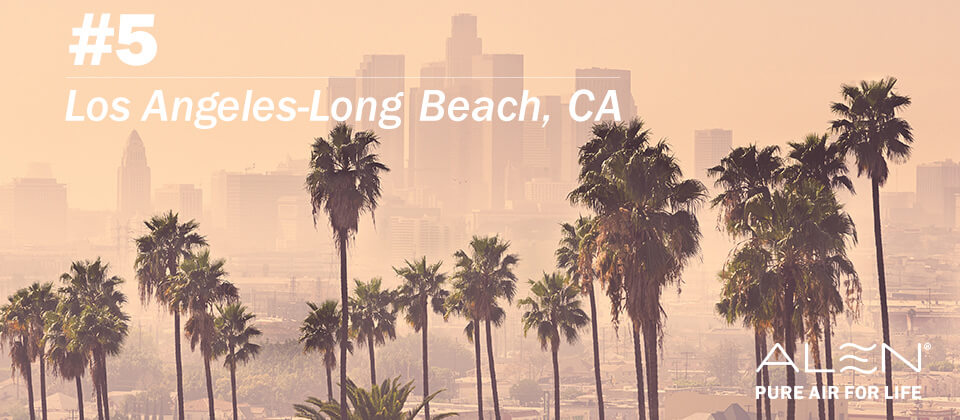 #5: Los Angeles-Long Beach, CA