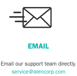 Email our support team directly