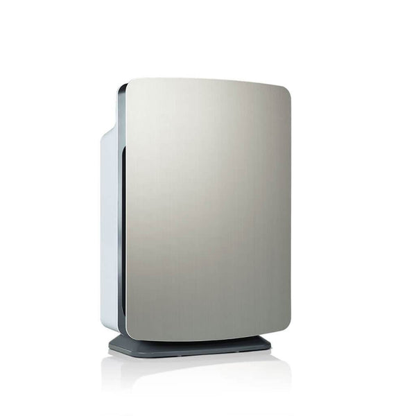 Alen BreatheSmart HEPA Air Purifier for Multi-Purpose Use Brushed Stainless 3/4 View