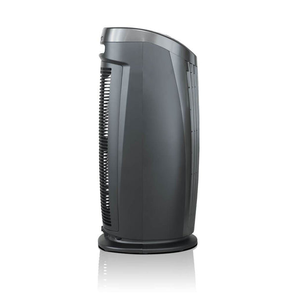 Alen T500 Tower Air Purifier For Asthma, Mold and Bacteria Black Side View