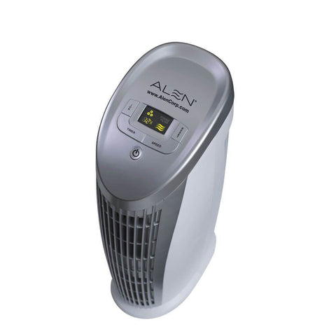 Alen T500 Tower Air Purifier For Asthma, Mold and Bacteria White Upper View