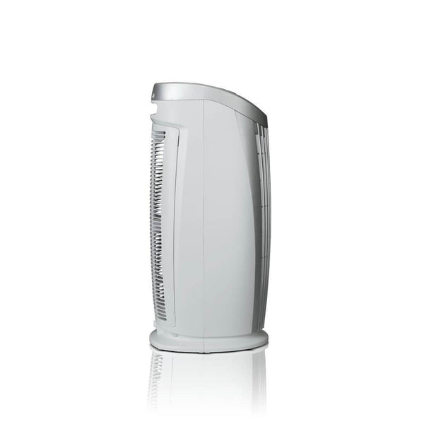Alen T500 Tower Air Purifier For Asthma, Mold and Bacteria White Side View